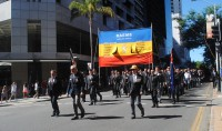 ANZAC Day March Brisbane