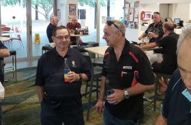 L-R-  Eric Cupitt & Bob Lauro