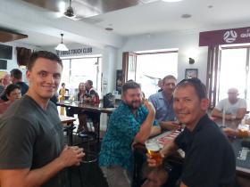 L-R Unkown, Jason Handsaker Paul Macdonald and Richard Todt