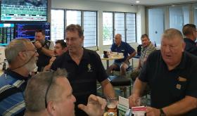 L-R Tony Earwaker, Matt Payne, Doug Merry & Fred Read