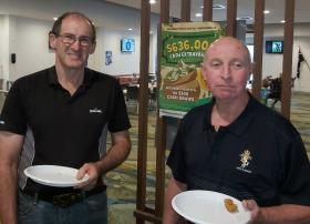 L-R - Jugs Maloney & Ian Mckay