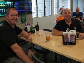 L-R - Craig Fidge & Ian Mckay