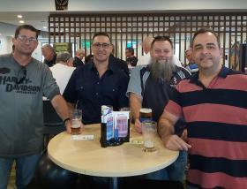 L-R - Ian Downey, Jase Ballard, Ian Moorhouse & Lee Rollins