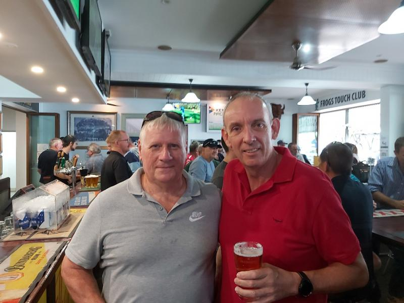 L-R Dave Packer and Ian Joyce