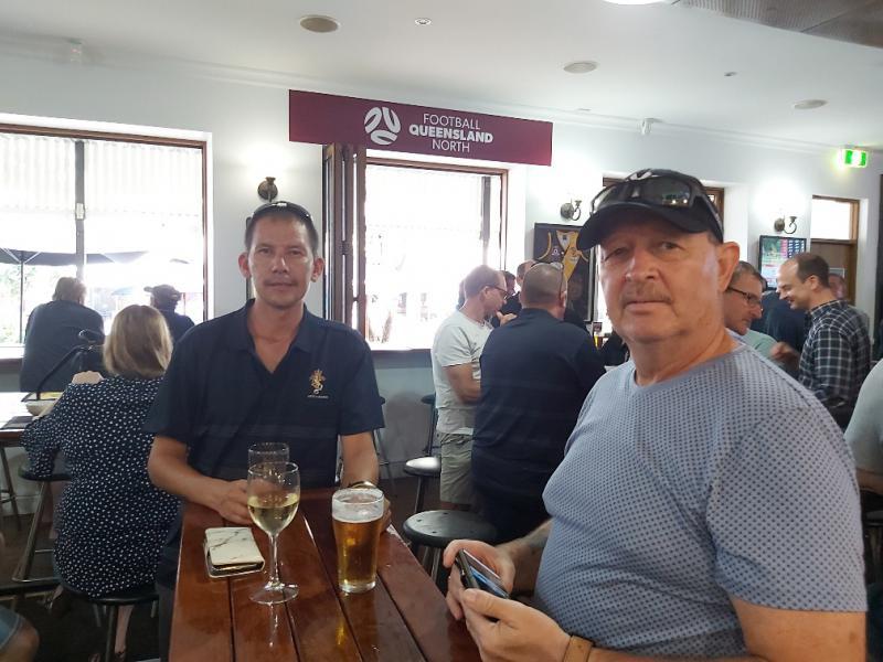L-R Richard Todt & Bert Greenfield